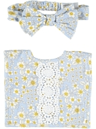 Baby Bib And Headband Set