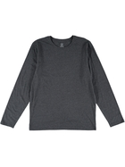 Mens Long Sleeve Organic Tee