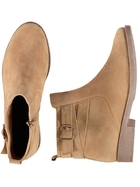 Women Buckle Boot