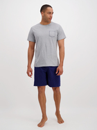 Mens Short Sleeve Pyjama Set
