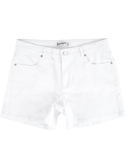 Womens Twill Pocket Short