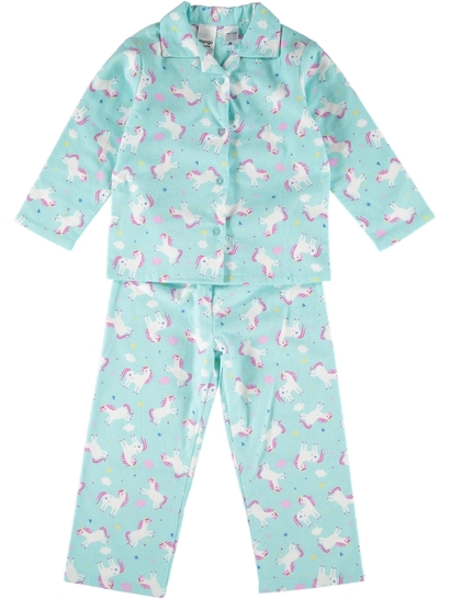 Girls Flannelette Pyjama Set