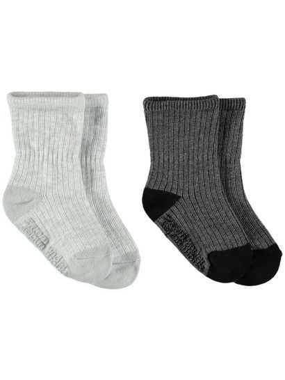 Baby Gentle Grip Sock 2Pk