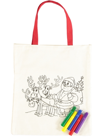 Christmas Drawing  Bag