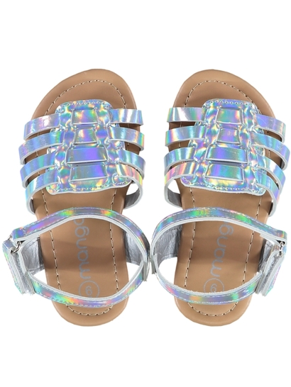 Toddler Girl Mirror Sandal