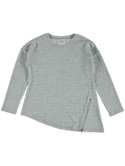 Girls Asymmetric Knit