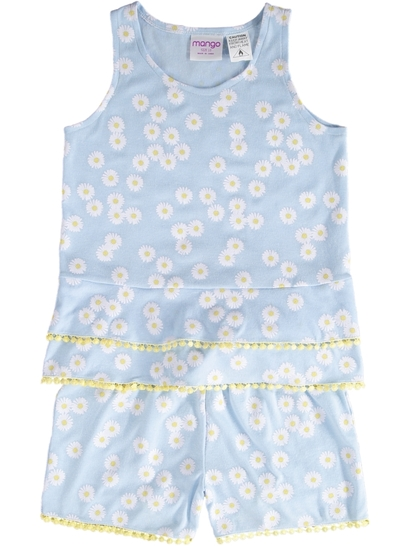 Girls Fashion Frill Pyjamas