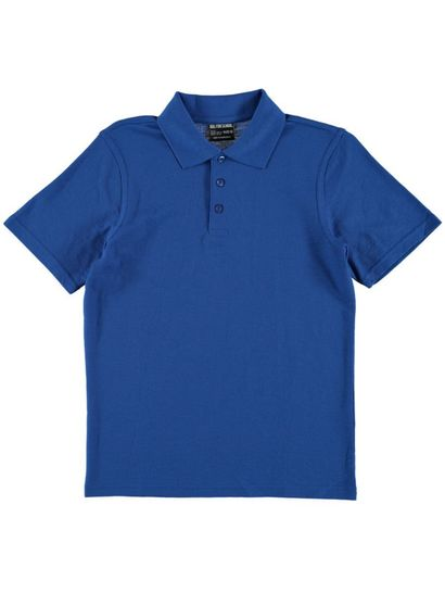 ROYAL BLUE KIDS POLO
