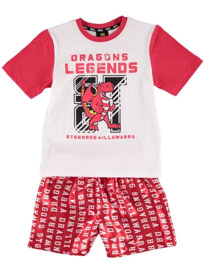 Nrl Toddlers Knit Satin Pj
