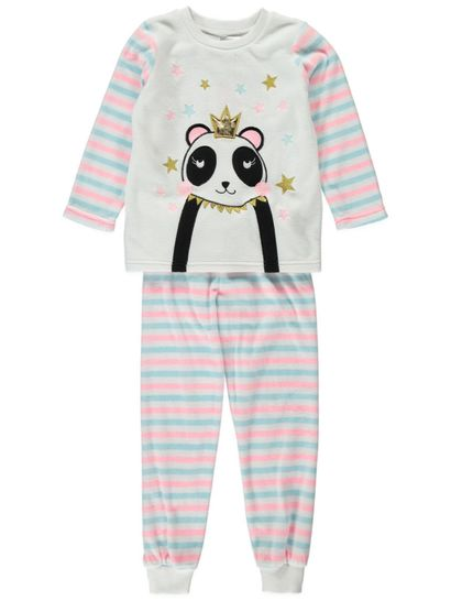 Girls Fleece Pyjama Set