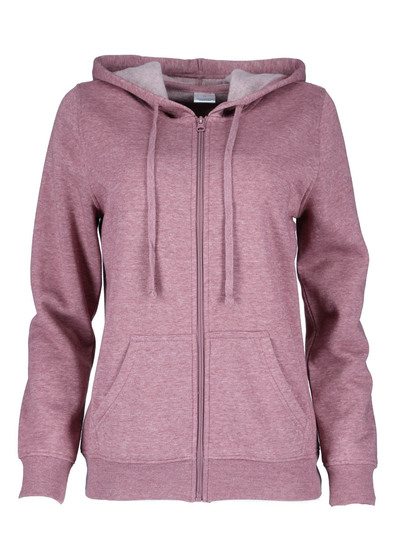 Zip-Through Hooded Fleece Womens