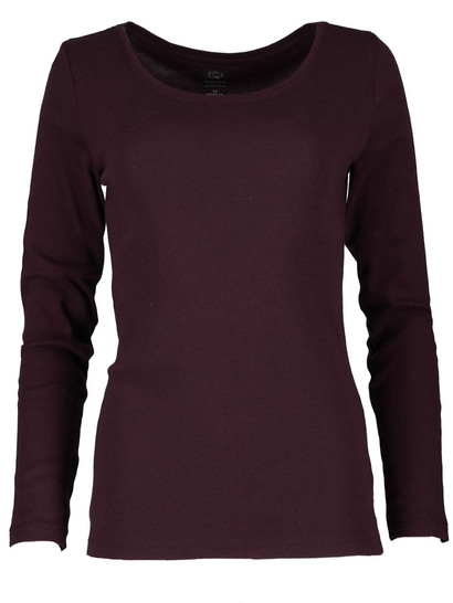 Organic Cotton Long Sleeve Top Womens