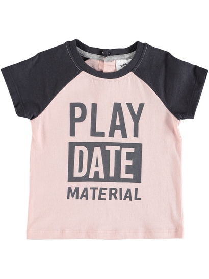 Baby Short Sleeve Print T-Shirt