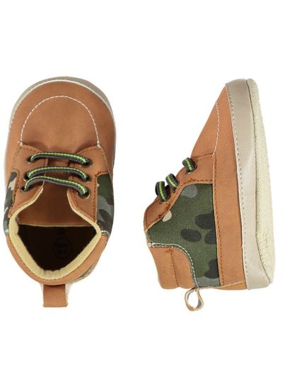 Baby Boy Soft Sole Camo High Top
