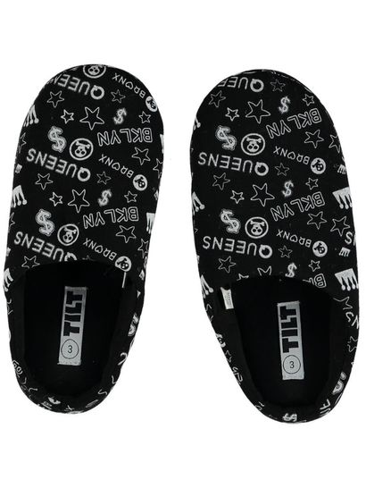 Boys Printed Scuff Slippers