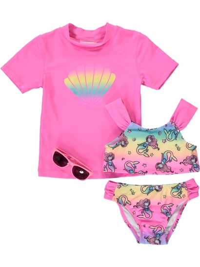 Toddler Girls Swim Set