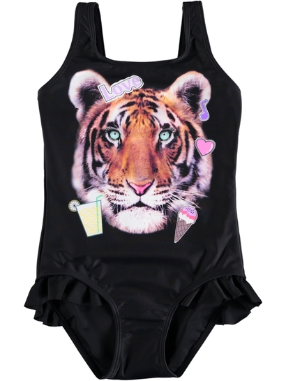Girls Tiger Swimsuit