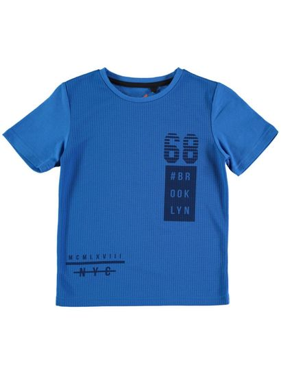 Boys Mesh Front Tee