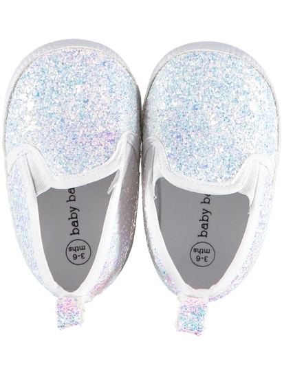 Baby Girl Soft Sole Glitter Shoe