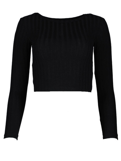 Miss Mango Ls Knit Top