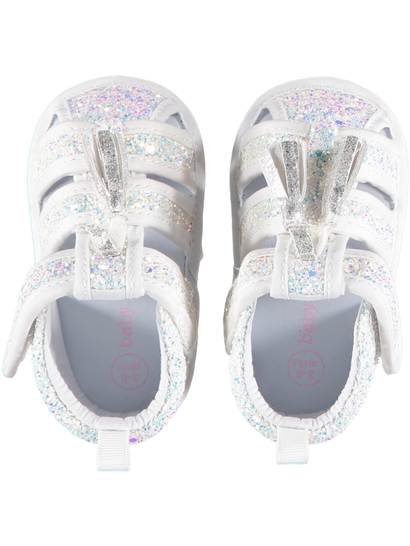 Baby Girl Soft Sole Glitter Sandal