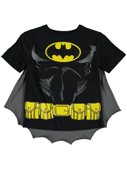 Boys Batman Caped T-Shirt