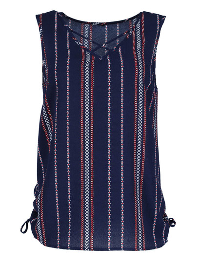 Plus Ruched Side Tank Womens