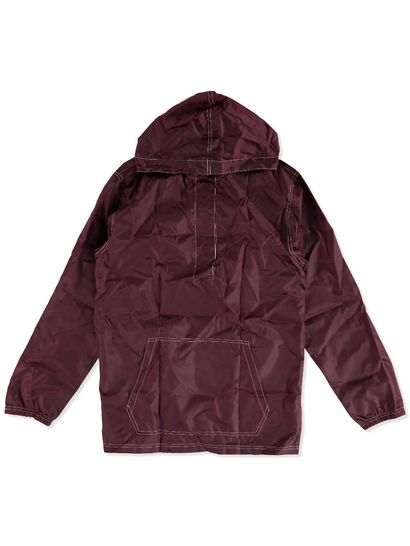MAROON KIDS PULL OVER SPRAY JACKET
