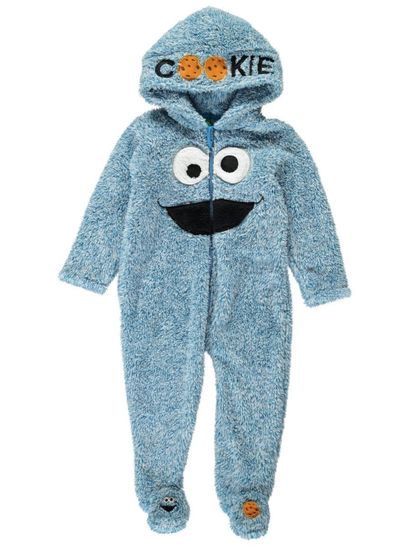 Baby Onesie Cookie Monster