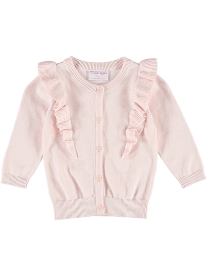 Toddler Girl Ruffle Cardigan