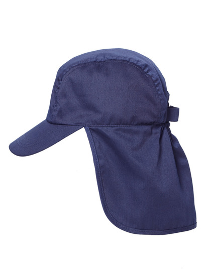 NAVY BLUE KIDS LEGIONNAIRE CAP