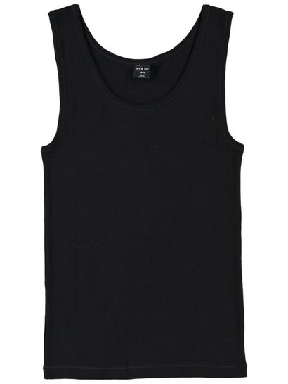 Thermal Vest Top Rib Womens