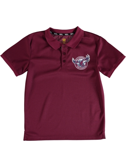 Youth Sp Nrl Mesh Polo