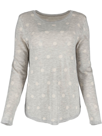 Womens Plus Jacquard Pullover Top
