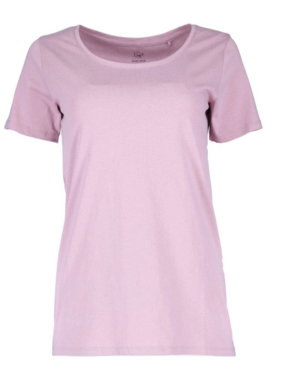Organic Cotton Scoop Neck Tee Womens