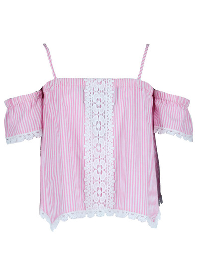 Girls Stripe Blouse