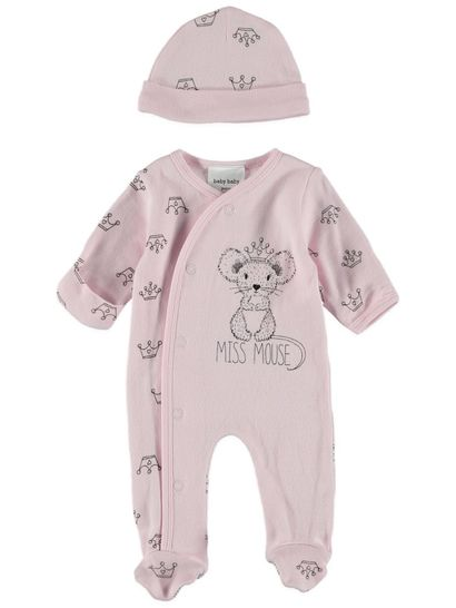 Baby Premature Romper & Hat Set