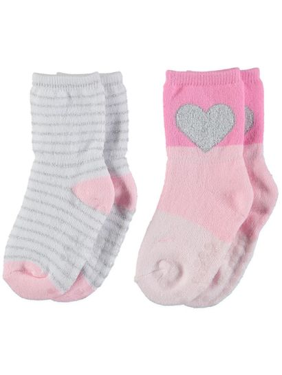 Socks? Yes, socks. I'm talking baby socks, toddler socks, preschool socks, and all manner of little kid socks from infant on up. I realize in confessing this, I might sound a little crazy.
