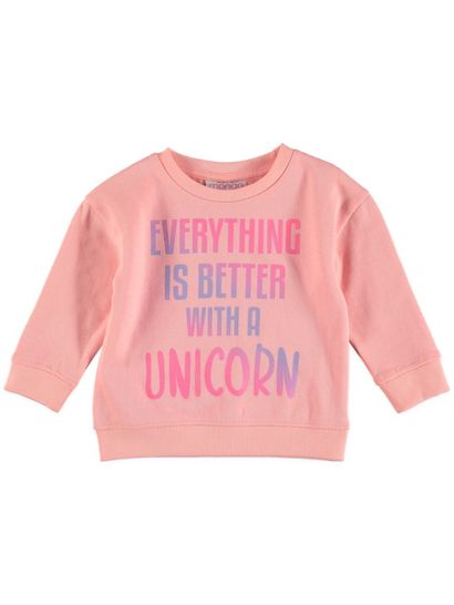 Toddler Girls Printed Sweat