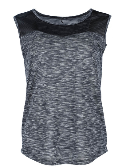Plus Elite Mesh Panel Tank Womens