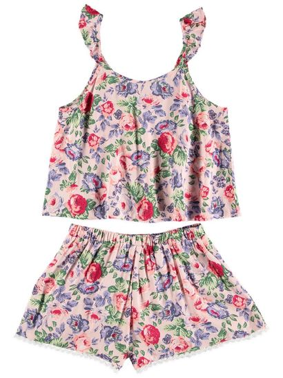 Girls Top And Short Set