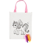 Kids Unicorn Drawing Bag