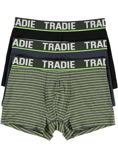 Mens Tradie 3Pk Trunks