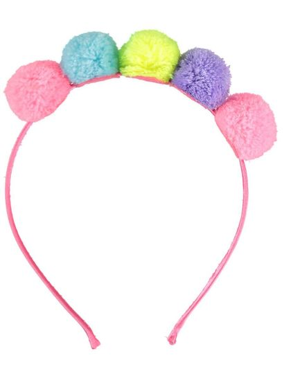 Girls Pom Pom Headband