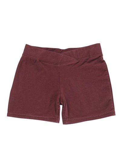 MAROON GIRLS BIKE SHORTS
