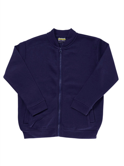NAVY BLUE KIDS FULL ZIP FLEECE JACKET