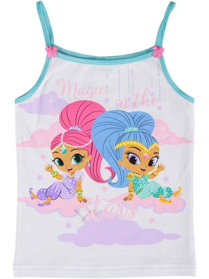 Girls Shimmer And Shine Singlet