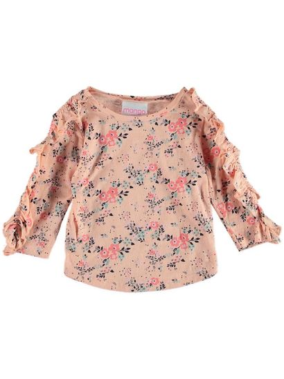 Toddler Girls Long Sleeve Fashion Top