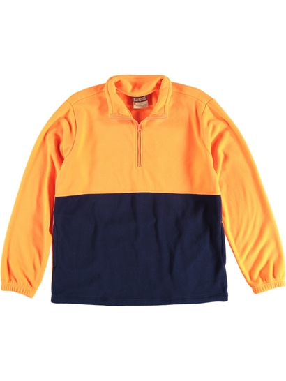Mens Hi Vis Polar Fleece Workwear Top