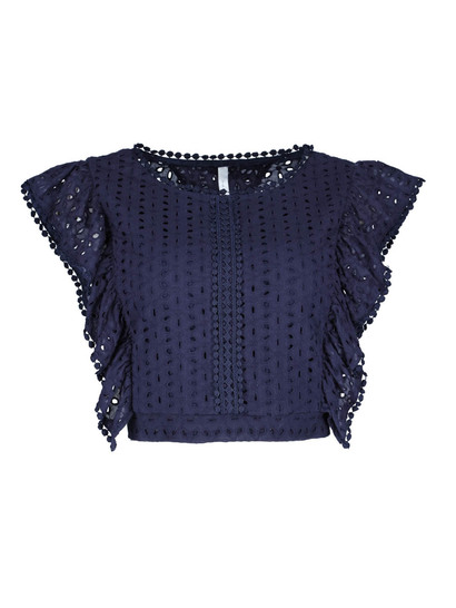 Miss Mango Broderie Top